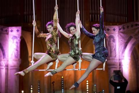 circo aerial dance o teatro acrobatico