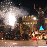 """20060228 VENEZIA CRO. ULTIMO GIORNO DI CARNEVALE. """"Battaglia tra Carnevale e Quaresima"""" della Compagnia dei Pazzi. © Andrea MEROLA/L"""