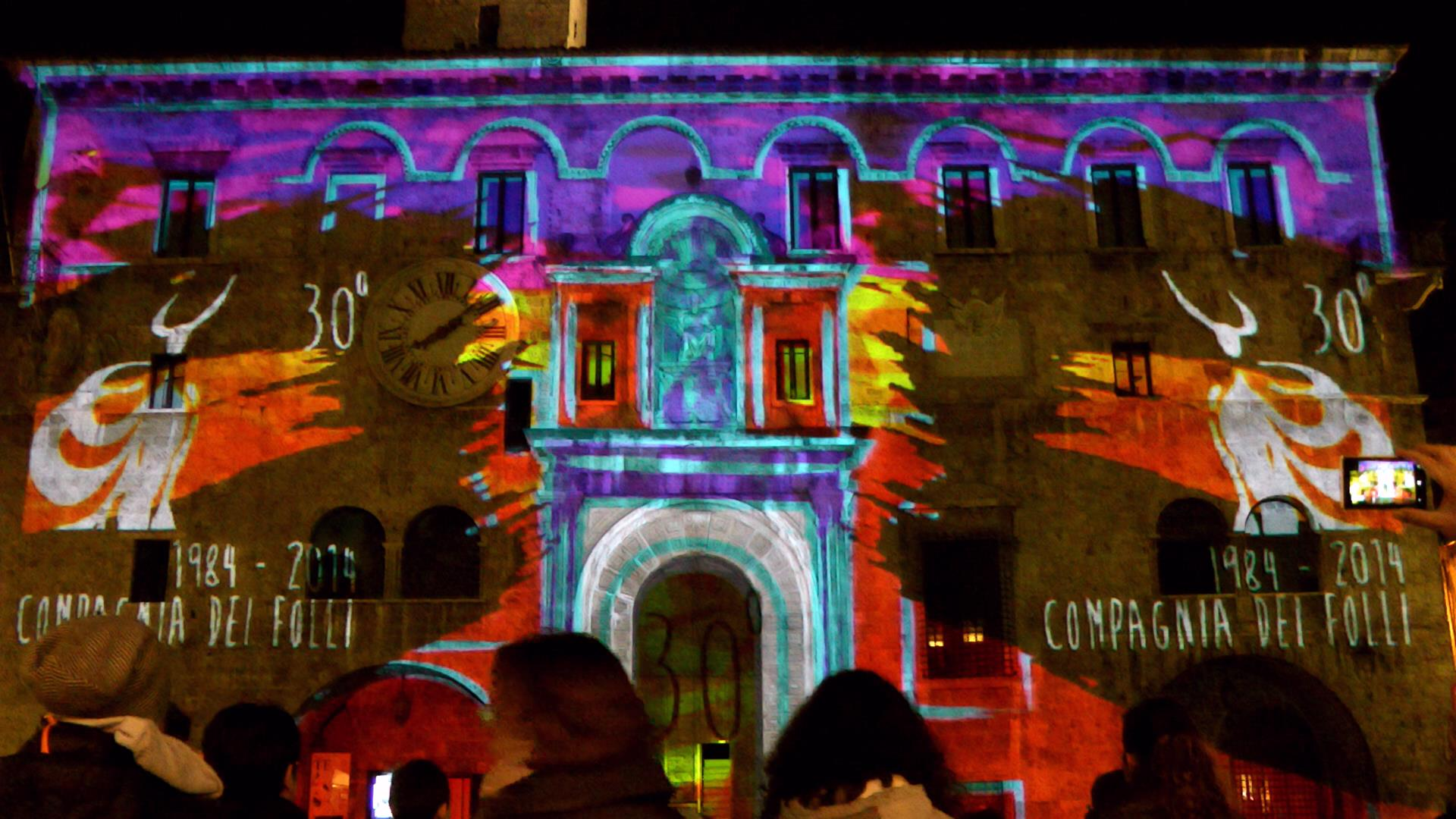 video mapping 30 folli