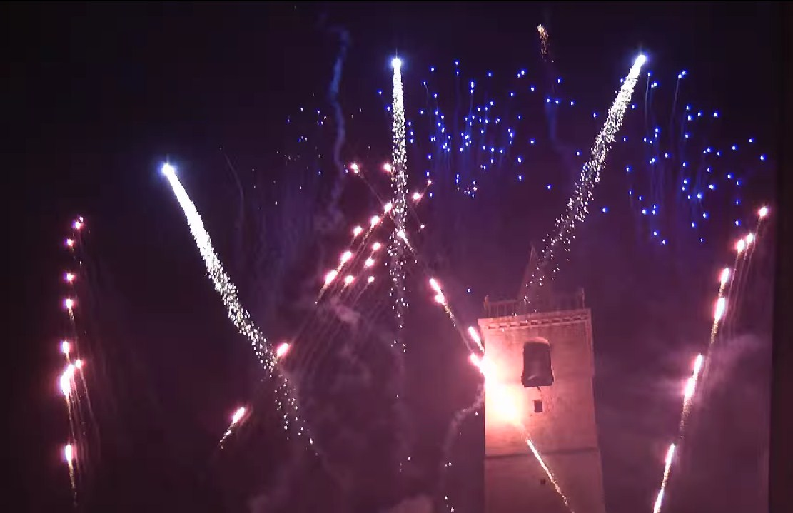 fuochi d'artificio in musica